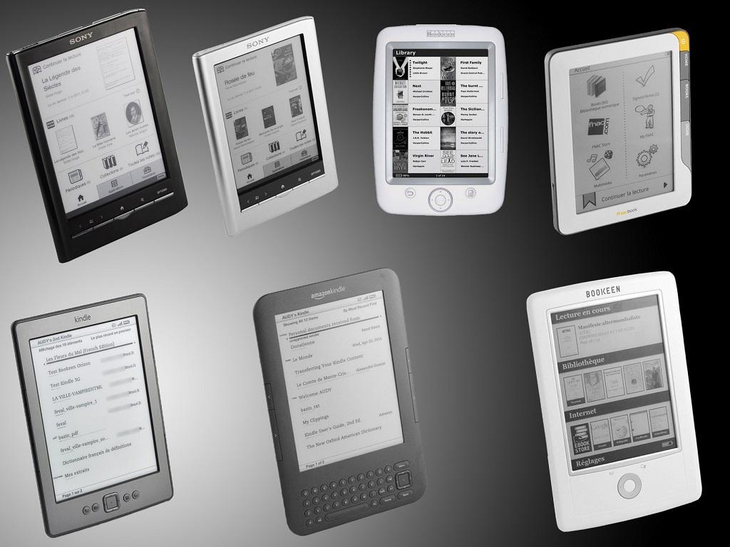 Bibliothèque numérique quelle liseuse choisir 2