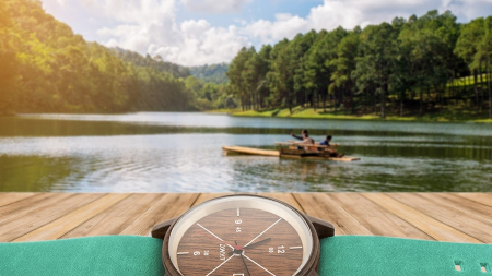 La montre en bois, originale et incontournable