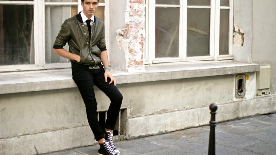 converse homme look