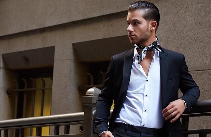 le foulard   l u2019incontournable du style dandy