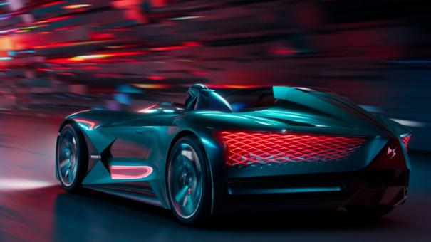 Reveal DS x E-TENSE : un concept car futuriste